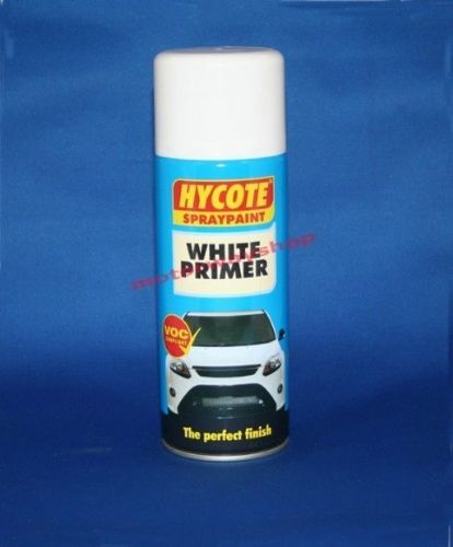 White Primer Spray Paint Hycote 400ml Aerosol Undercoat